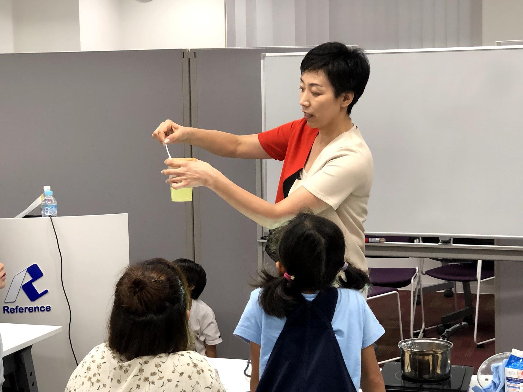 親子の食育講座in福岡「ジュース」